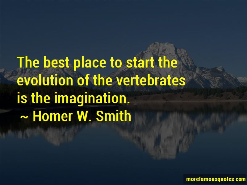 Homer W. Smith Quotes