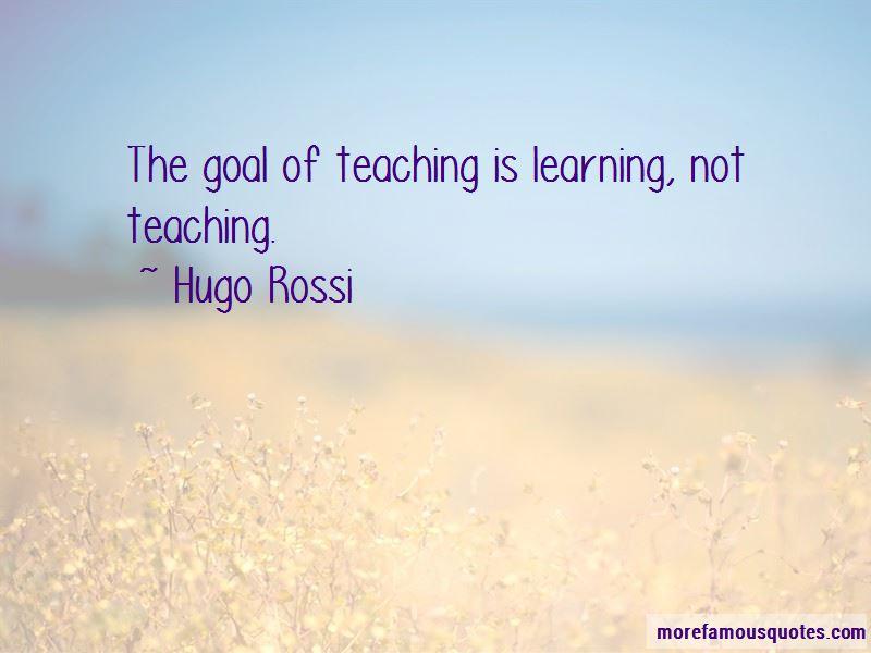 Hugo Rossi Quotes