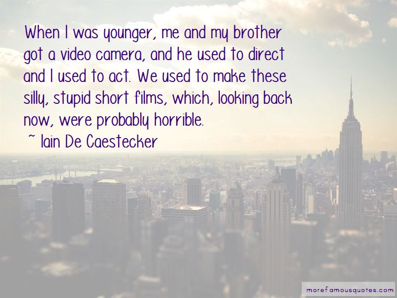 Iain De Caestecker Quotes