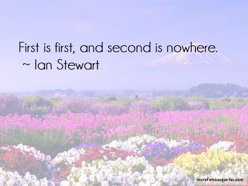 Ian Stewart Quotes