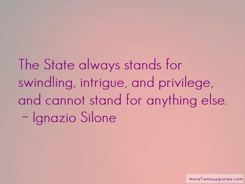 Ignazio Silone Quotes