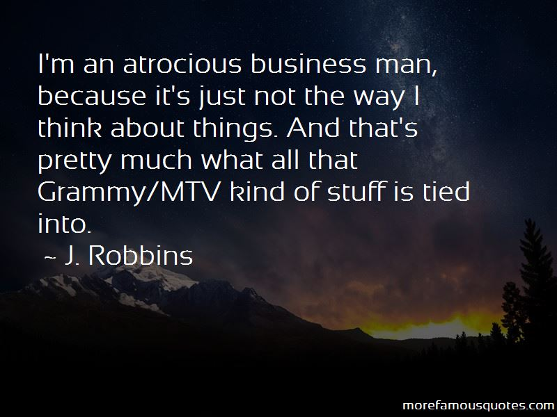 J. Robbins Quotes Pictures 2