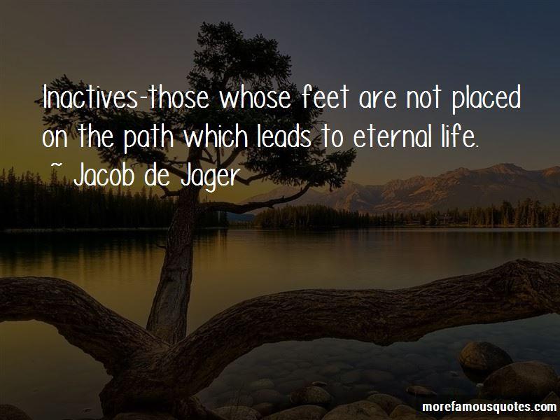 Jacob De Jager Quotes
