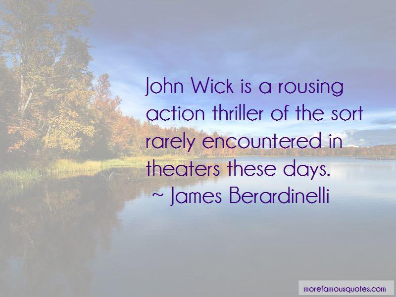 James Berardinelli Quotes