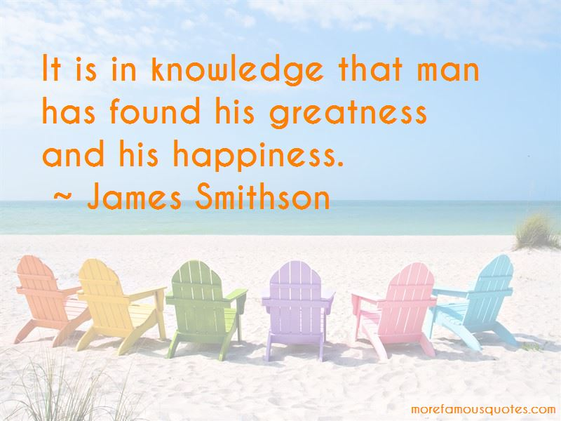 James Smithson Quotes Pictures 2