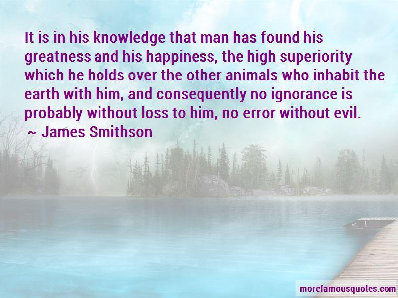 James Smithson Quotes