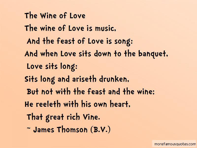 James Thomson (B.V.) Quotes