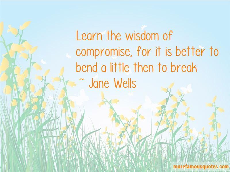 Jane Wells Quotes
