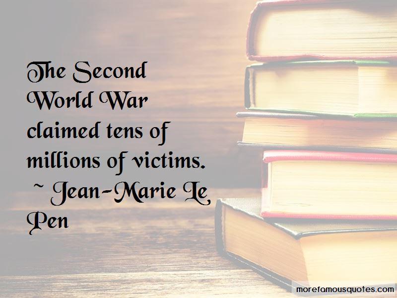 Jean-Marie Le Pen Quotes Pictures 2