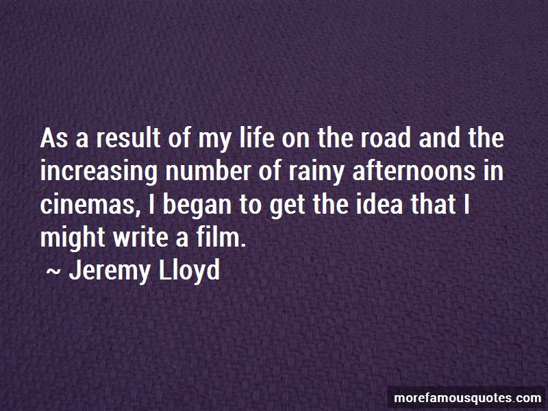 Jeremy Lloyd Quotes Pictures 4