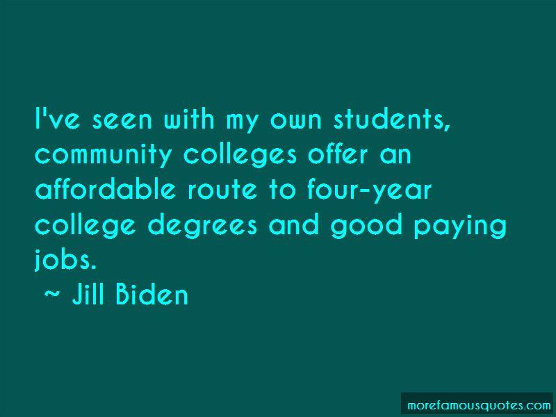 Jill Biden Quotes