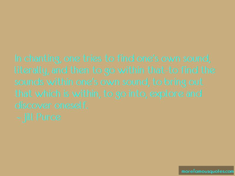 Jill Purce Quotes Pictures 2