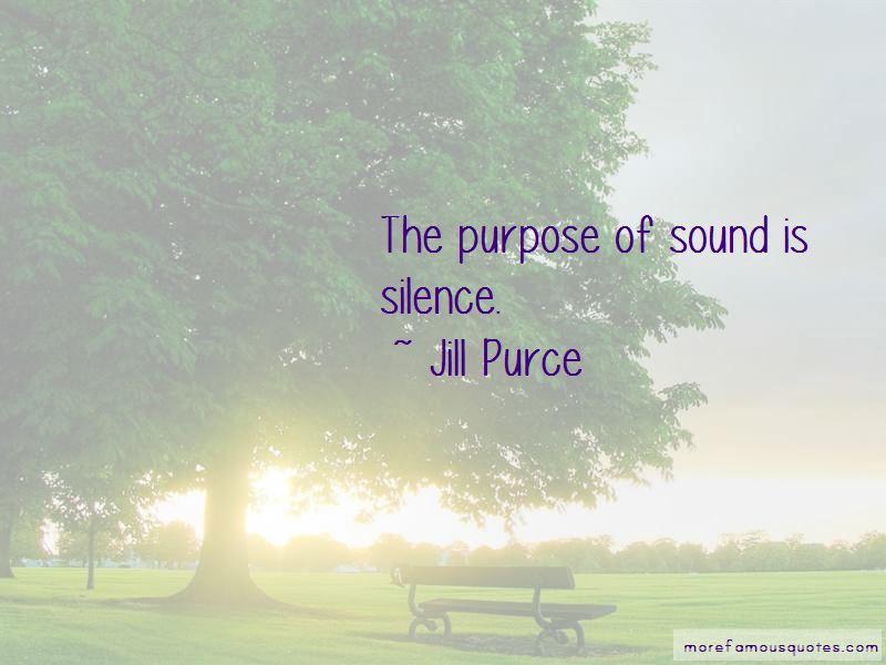 Jill Purce Quotes