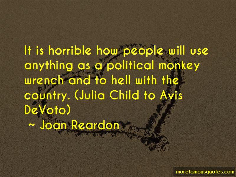 Joan Reardon Quotes