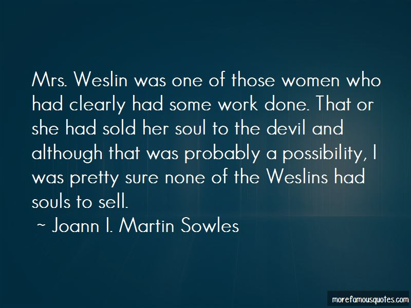 Joann I. Martin Sowles Quotes Pictures 2