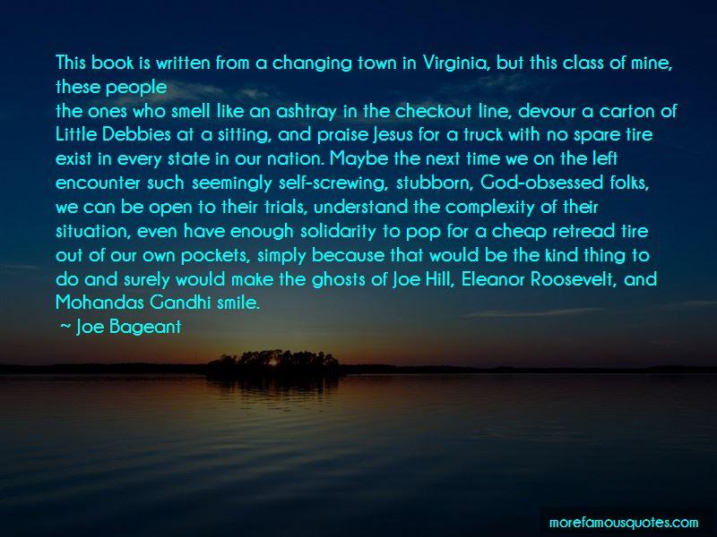 Joe Bageant Quotes