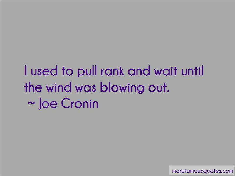 Joe Cronin Quotes Pictures 2