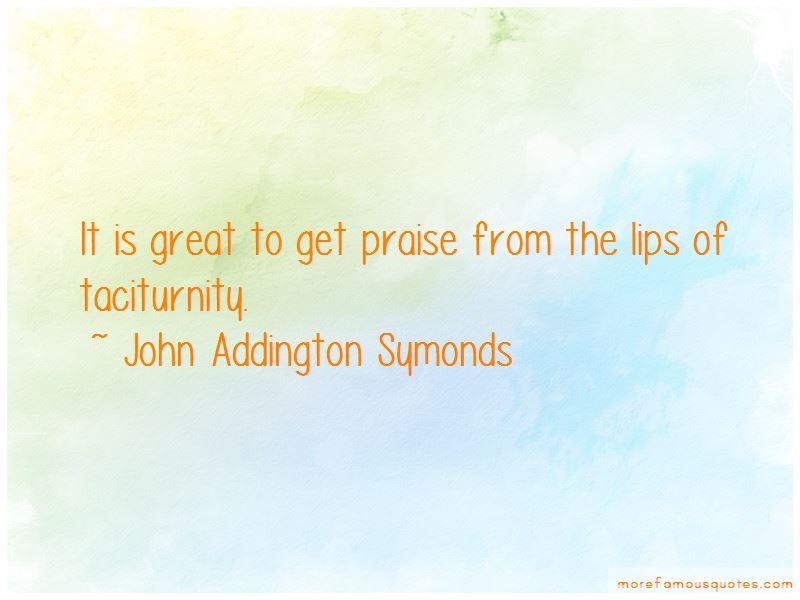 John Addington Symonds Quotes Pictures 3