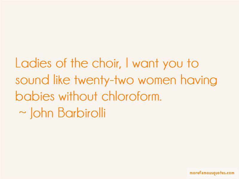 John Barbirolli Quotes
