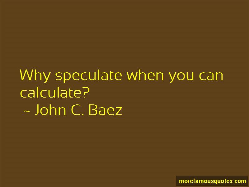 John C. Baez Quotes