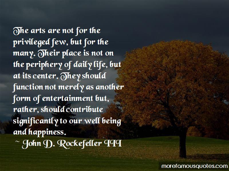 John D. Rockefeller III Quotes Pictures 2