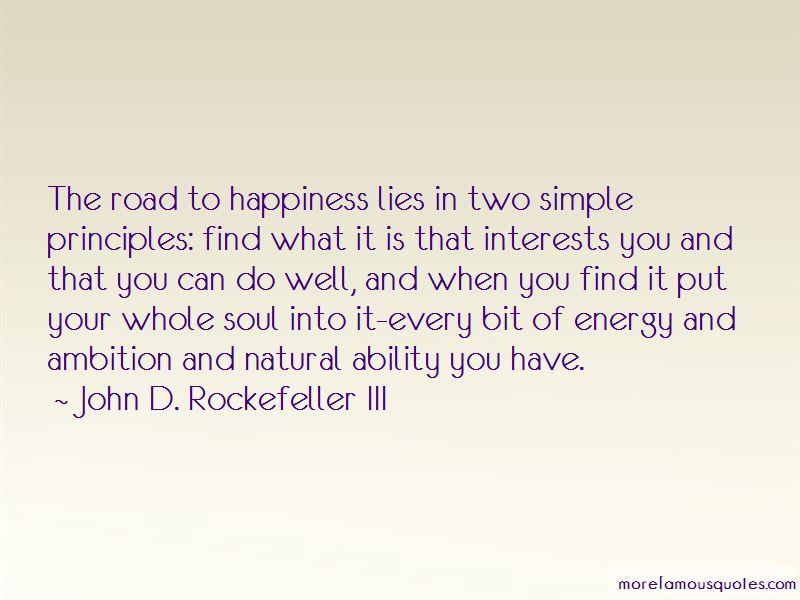 John D. Rockefeller III Quotes