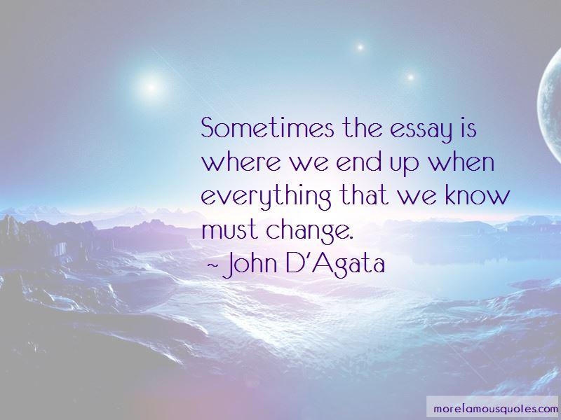 John D'Agata Quotes Pictures 4
