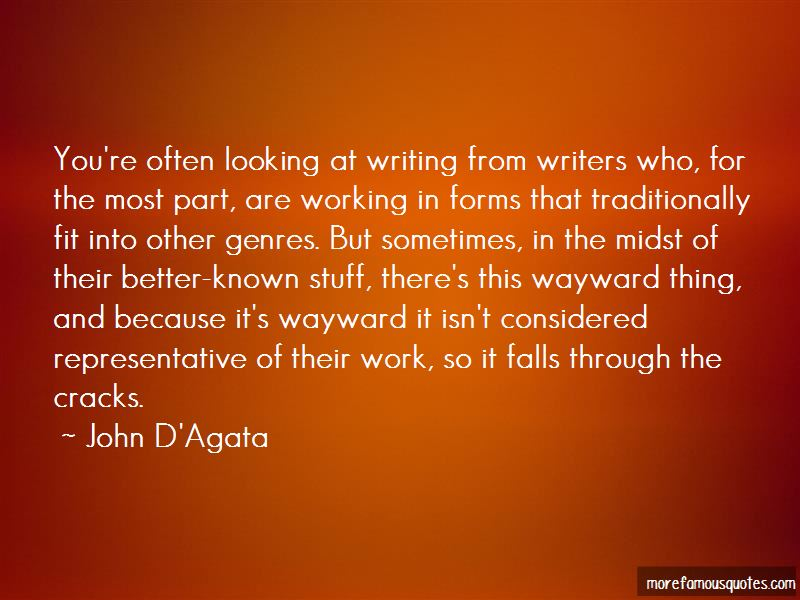 John D'Agata Quotes