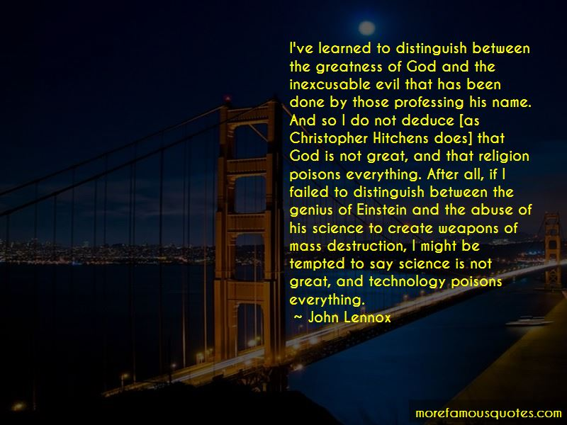 John Lennox Quotes Pictures 4