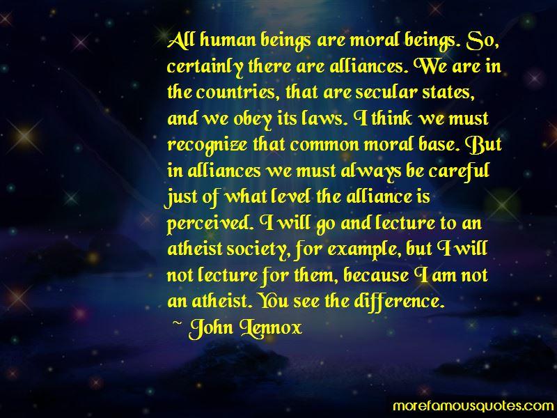 John Lennox Quotes
