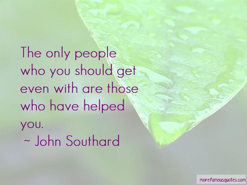 John Southard Quotes