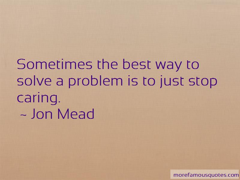 Jon Mead Quotes Pictures 2
