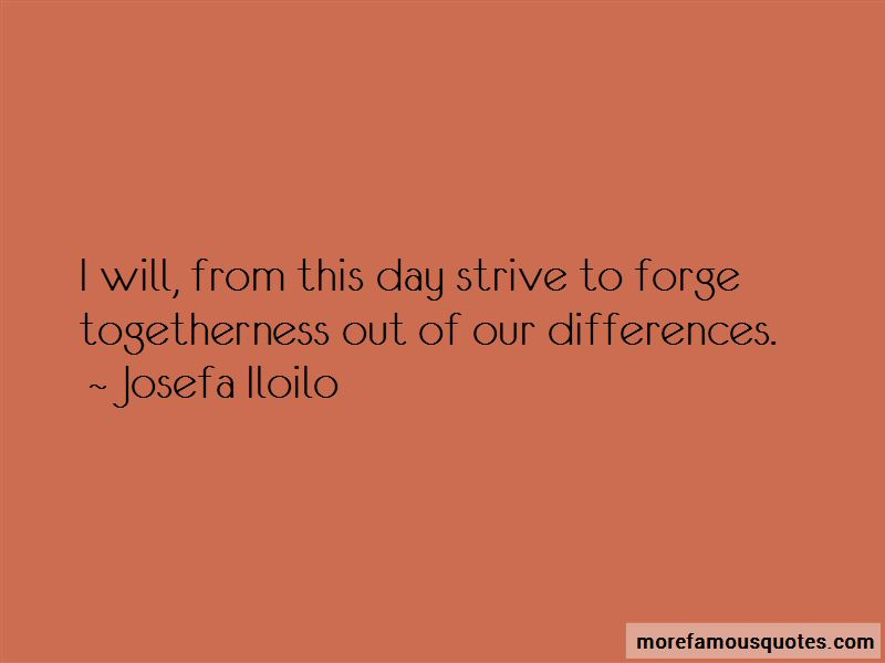 Josefa Iloilo Quotes