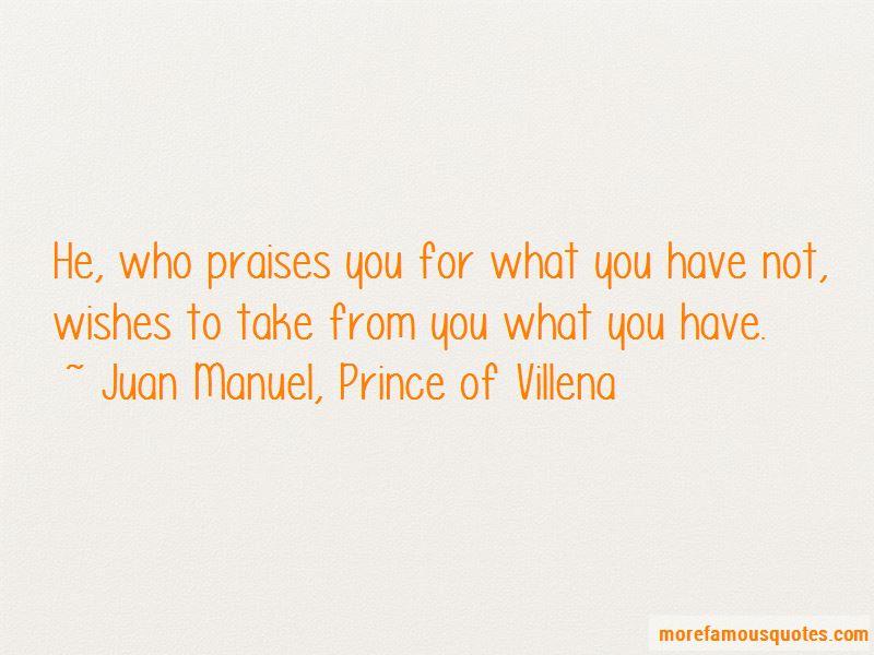 Juan Manuel, Prince Of Villena Quotes