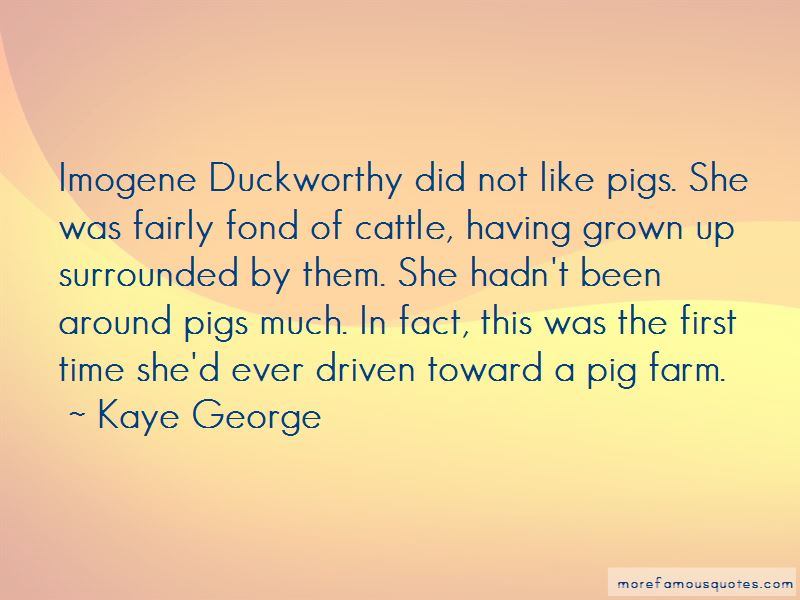 Kaye George Quotes