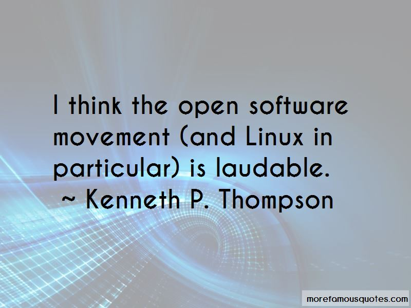 Kenneth P. Thompson Quotes Pictures 3