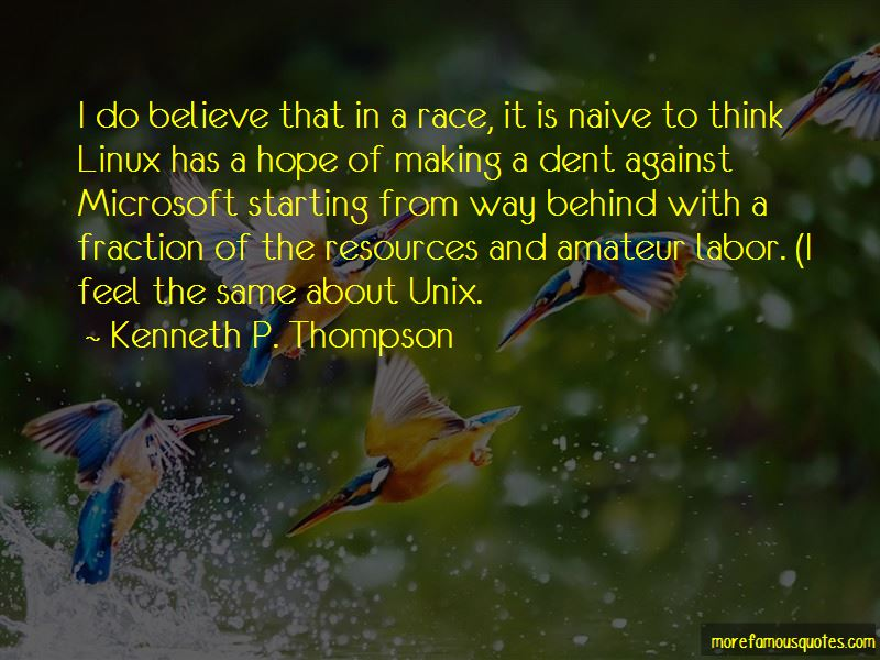 Kenneth P. Thompson Quotes