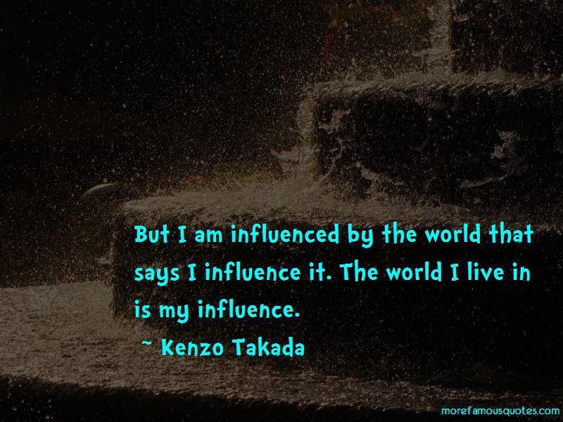 Kenzo Takada Quotes Pictures 2