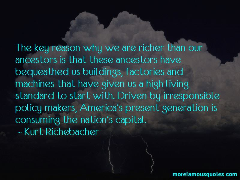 Kurt Richebacher Quotes
