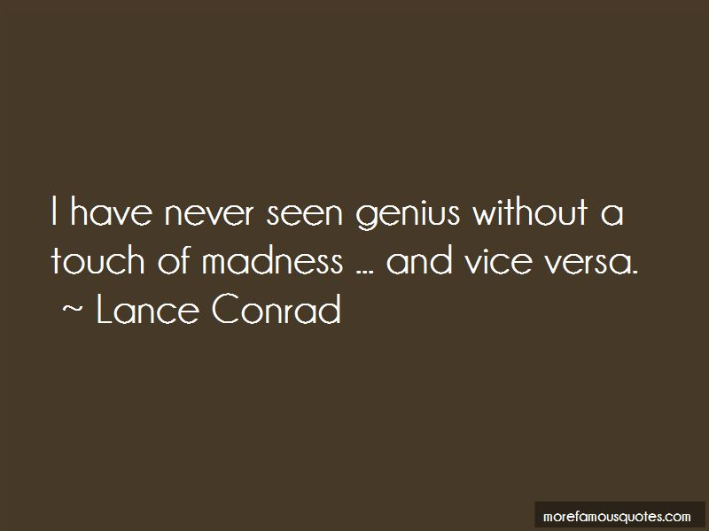 Lance Conrad Quotes Pictures 2