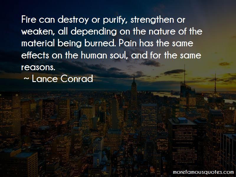 Lance Conrad Quotes Pictures 4