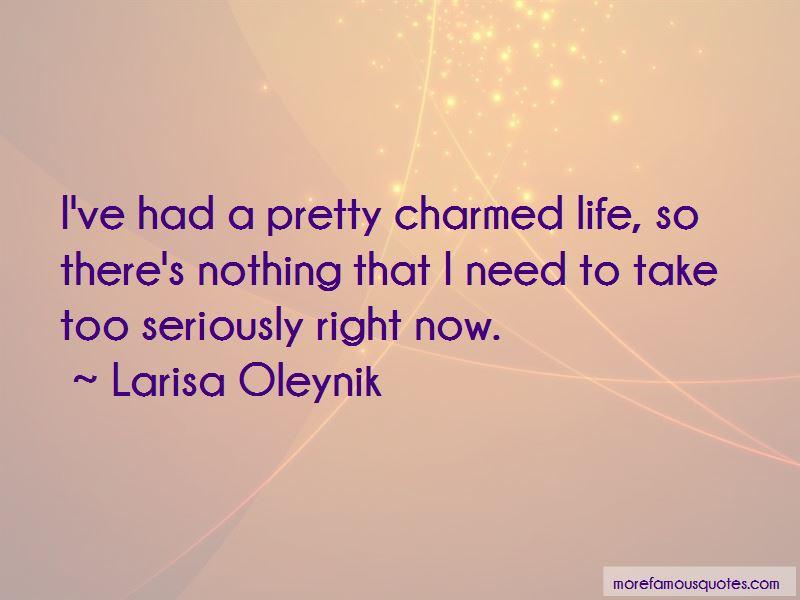 Larisa Oleynik Quotes