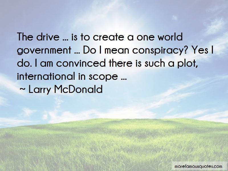 Larry McDonald Quotes
