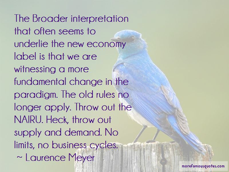 Laurence Meyer Quotes Pictures 2