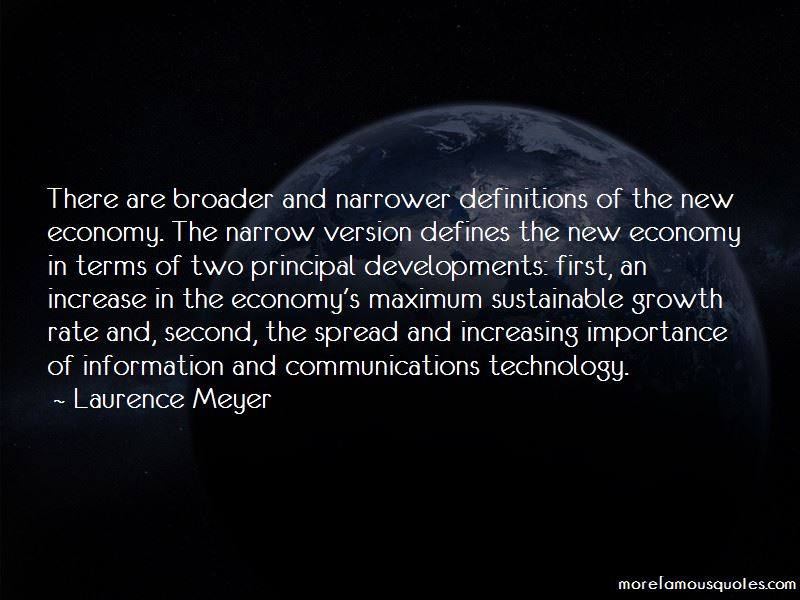Laurence Meyer Quotes Pictures 3