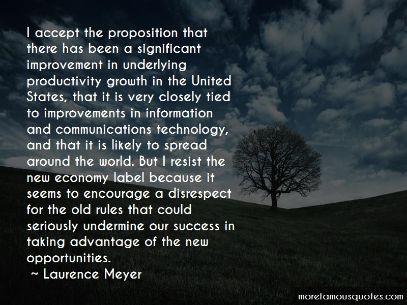 Laurence Meyer Quotes