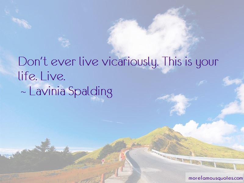Lavinia Spalding Quotes Pictures 2