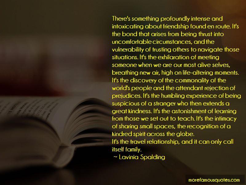 Lavinia Spalding Quotes