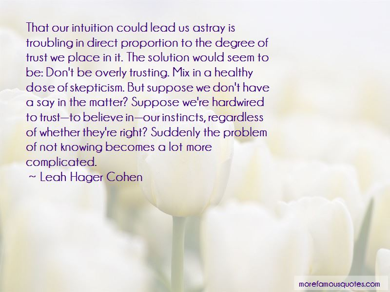 Leah Hager Cohen Quotes Pictures 3