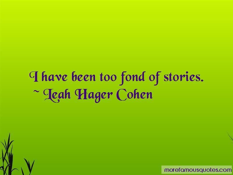 Leah Hager Cohen Quotes Pictures 4